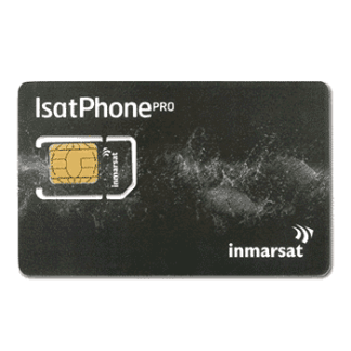 Inmarsat iSatPhone SIM card