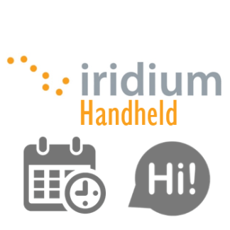 Iridium Pay Monthly Services - Iridium Extreme Ultra-Compact Mini Satphone <b>Solar</b> Bundle
