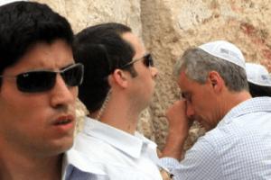 Rahm Emanuel au Kotel, le Mur des Lamentations