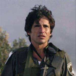 Arno Klarsfeld, avocat français pendant son service militaire en Israël