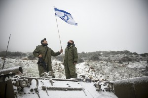 Neige dans le Golan