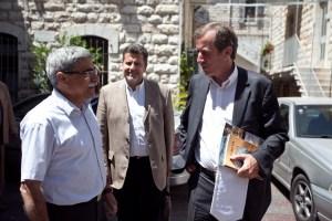 L'Ambassadeur et le maire de Nazareth, Ramiz Jaraissy