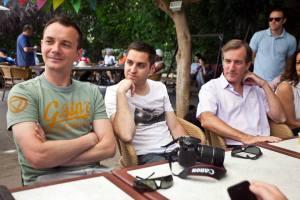 Le couple avec l'Ambassadeur Christophe Bigot (1)