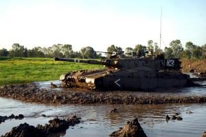 Tank Merkava 2 – Utilisé pour la première fois dans Tsahal en 1984