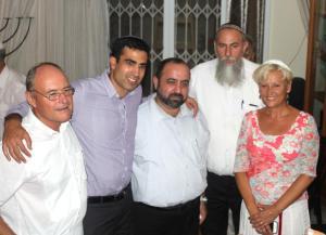 Shaul Sofer, Yoni Shetboun, Neria On, Shuki Cohen, Orah Sofer