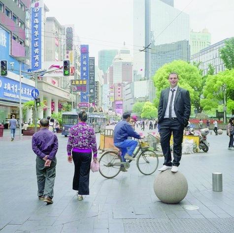 Sébastien Balestas  travaille dans une start-up chinoise à Shanghaï