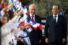 hollande en israel