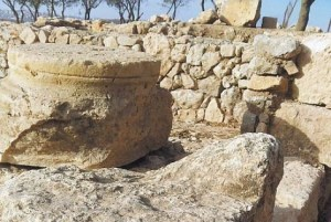 archaeology-shiloh-Grounds-for-belief-Archeologist-believe-that-this-altar-was-used-by-ancient-Israelites-Photo-credit-Ancient-Shiloh