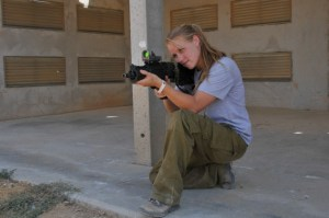IDF-Shooting-Instructor-Sarit-Peterson-getting-ready-to-fire-640x425