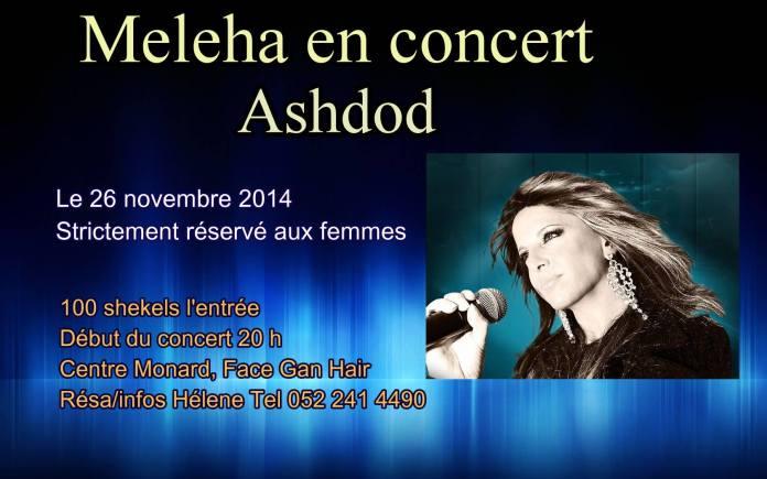 Meleha en concert