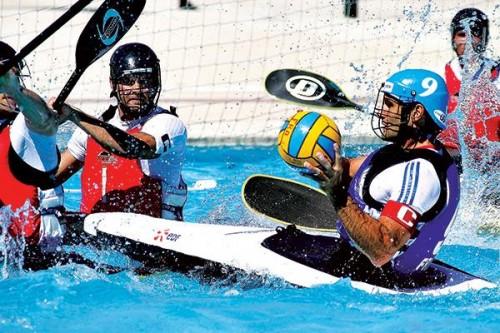 competition polo kayak