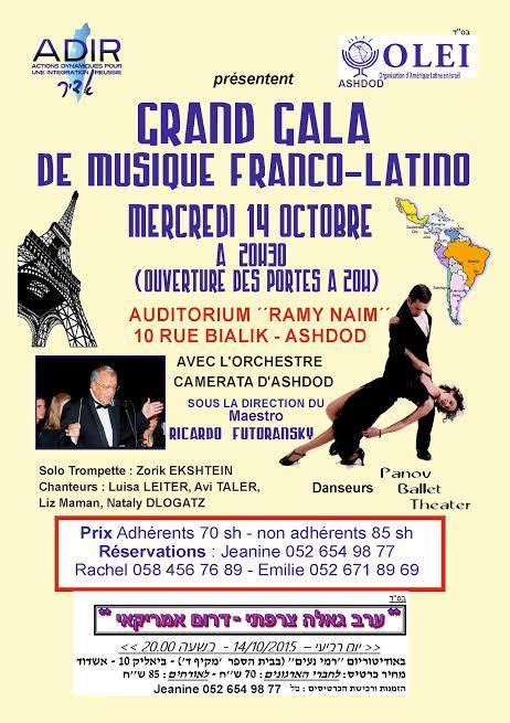 grand gala de musique franco latino