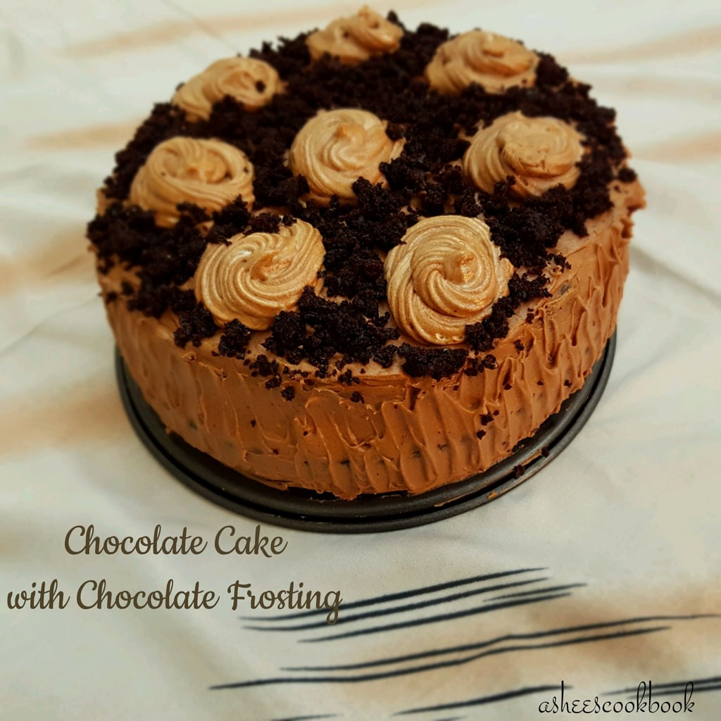 Best -Ever Chocolate Cake with Chocolate Frosting Recipe   Ashee's ...