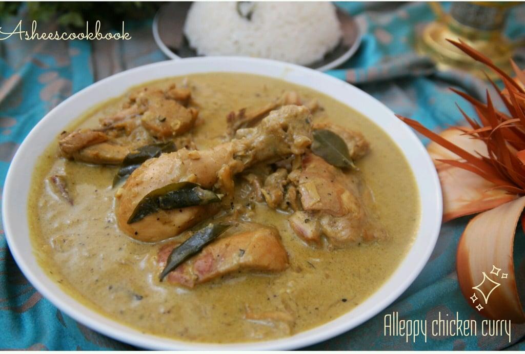 Alleppey chicken curry