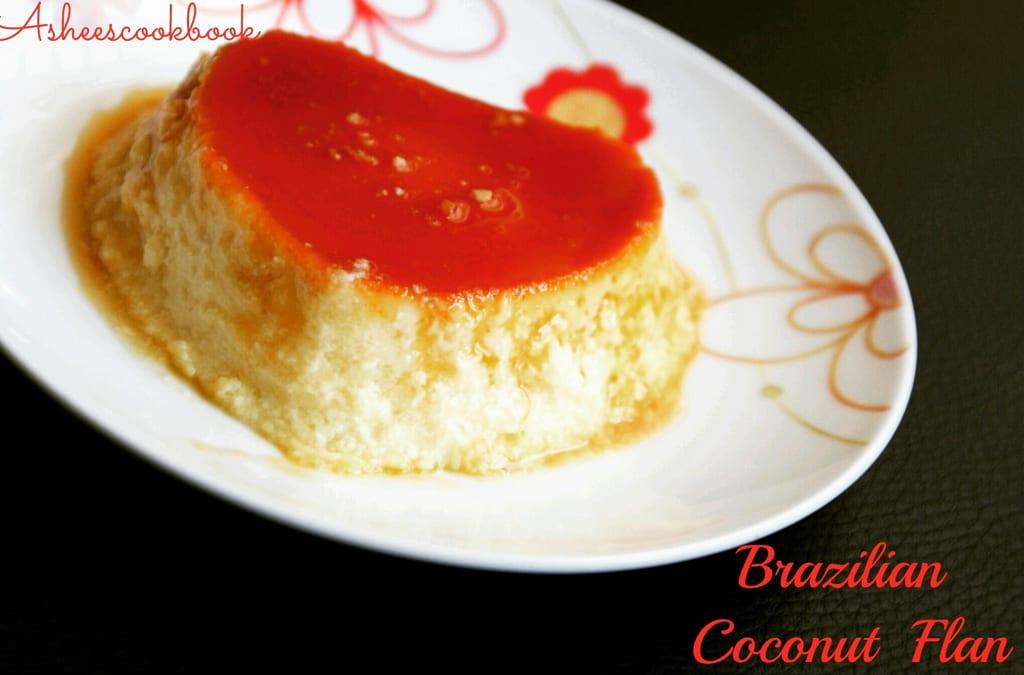 Brazilian  Coconut Flan