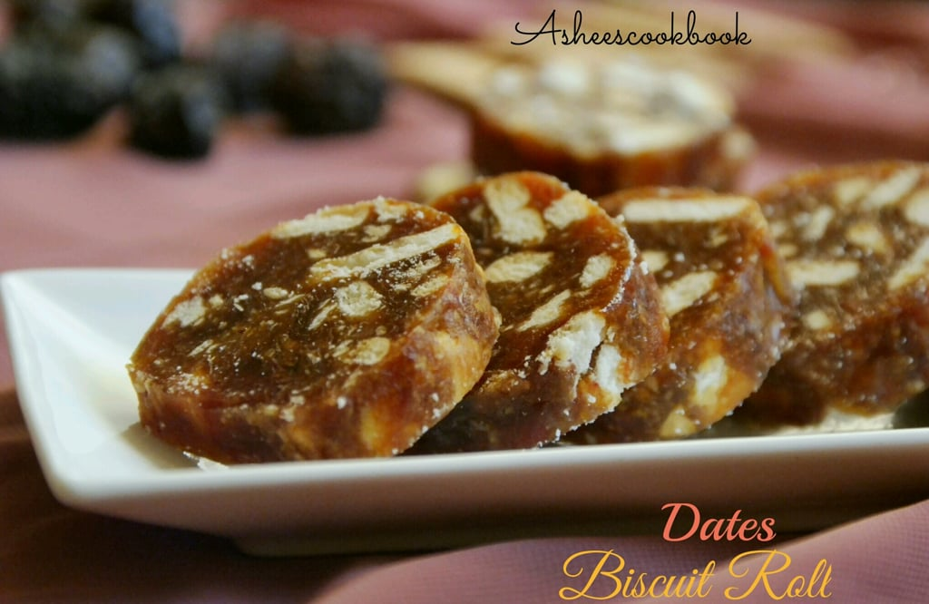 Dates Biscuit Roll