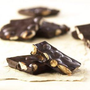 Dark Chocolate Almond Bark | Asher's Chocolate Co.
