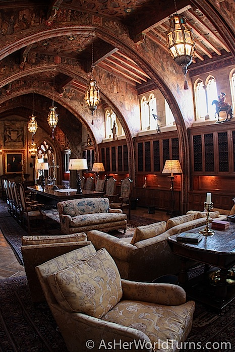 Hearst Castle Upstairs Suites Tour  As Her World Turns