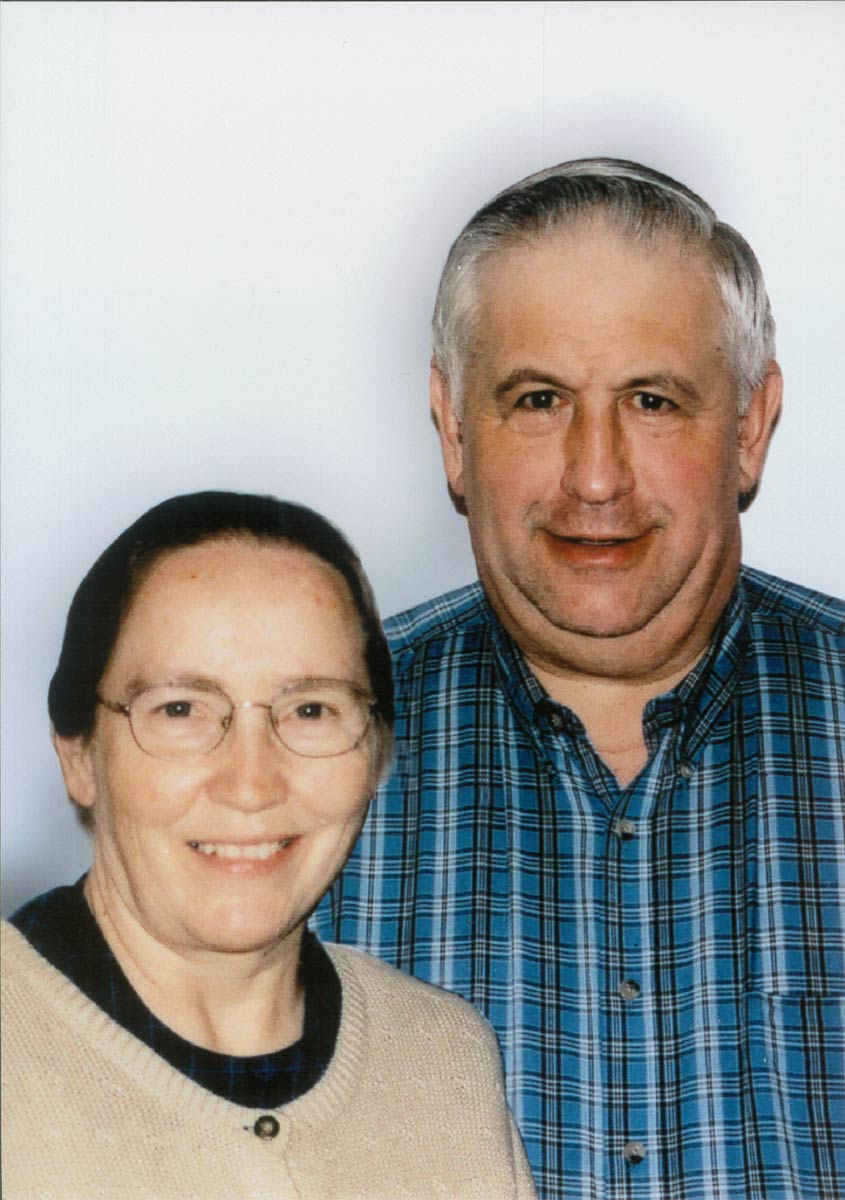 Cecil and Freda Yoder