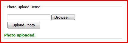 Create An Ajax Style File Upload