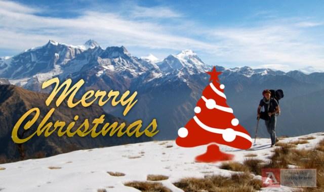 christmas nepal