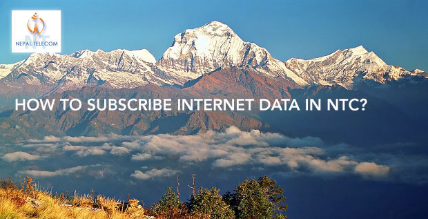 Subscribe internet data in NTC