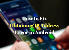 Fix botaining ip address