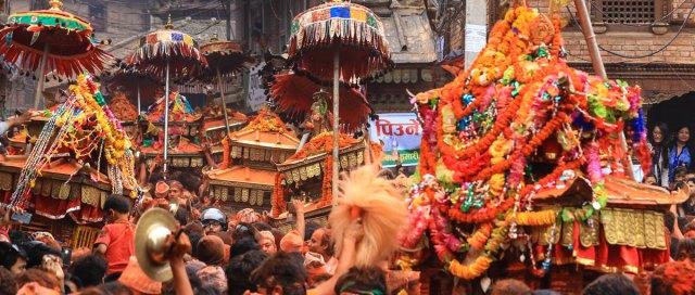 Bisket Jatra - Thimi Bhaktapur