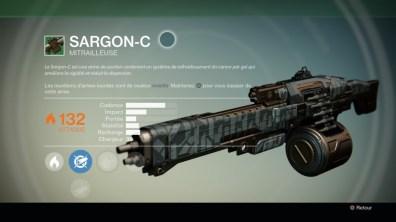 Arme lourde Sargon-C
