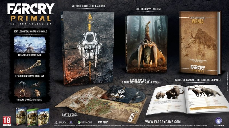Edition collector de Far Cry Primal