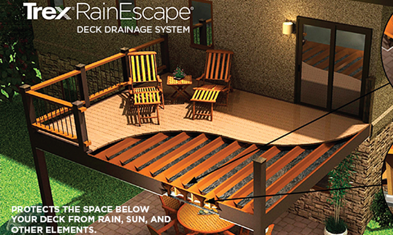 Rain Escape  Asheville Deck