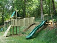Residential Projects - Backyard Playgrounds, Tree Forts ...