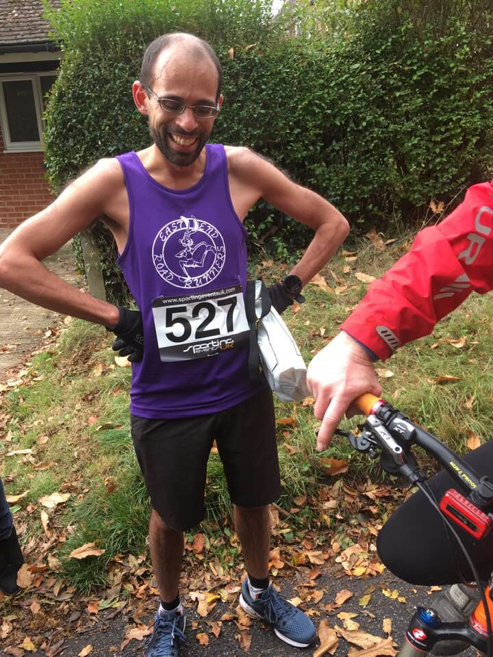 A& D 10 Mile race winner Angelo Pieris