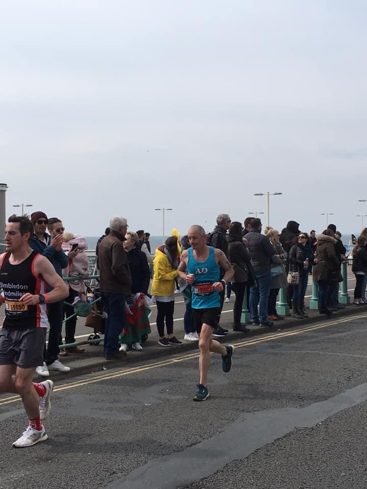 Brighton Marathon Julius Samson
