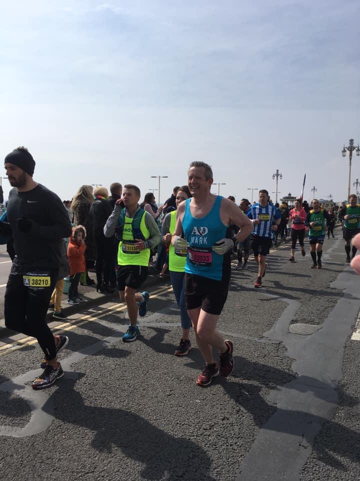 Brighton Marathon Mark Cleworth