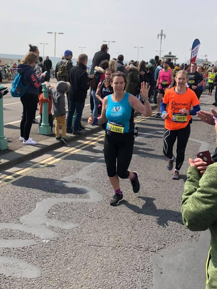 Brighton Marathon Sarah Homewood