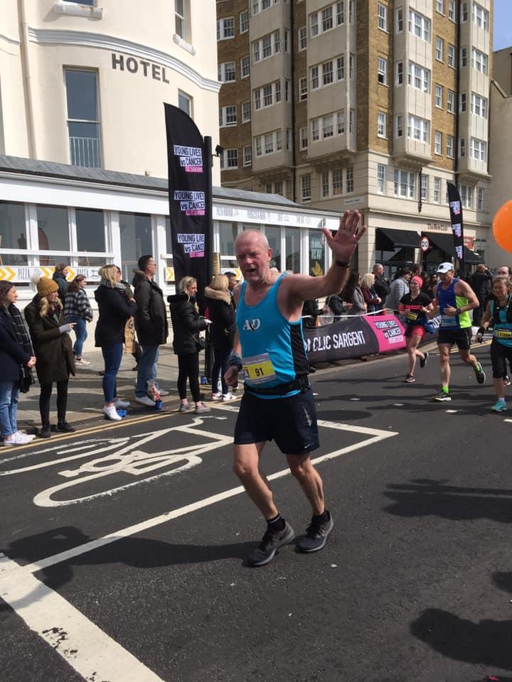 Brighton Marathon Steve Hickman
