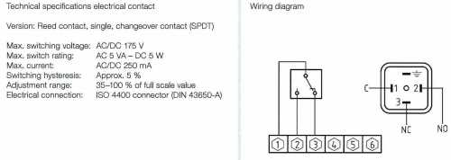 small resolution of reed switch wiring diaphragm