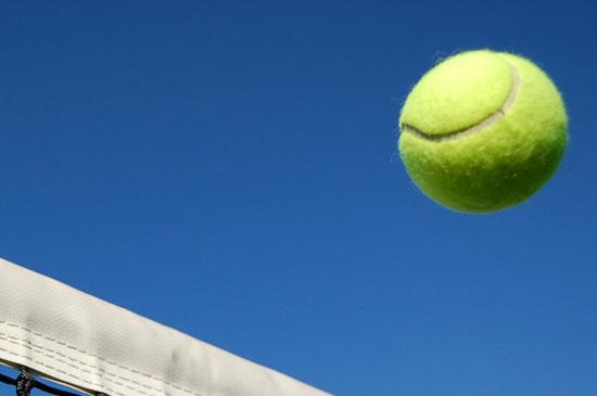 Team play at Ashford Tennis club