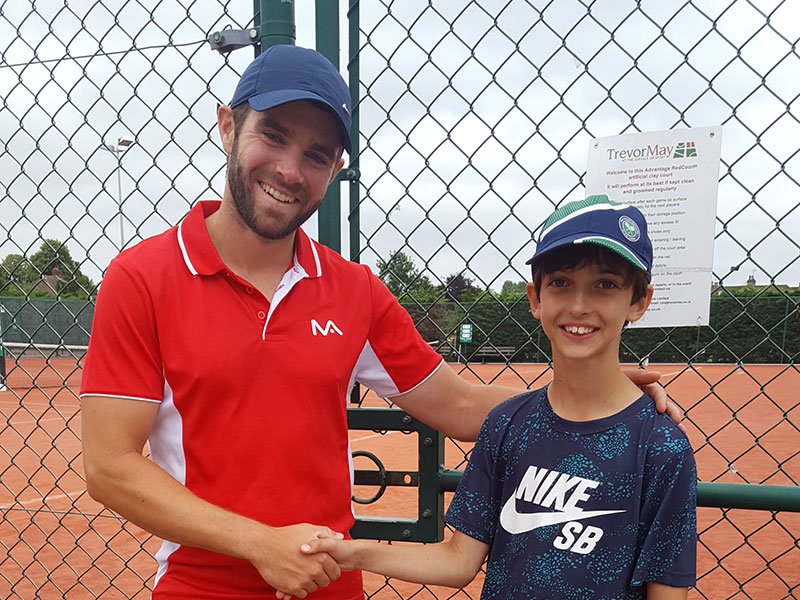 Junior Tennis Player Of The Term Ashford Tennis Club