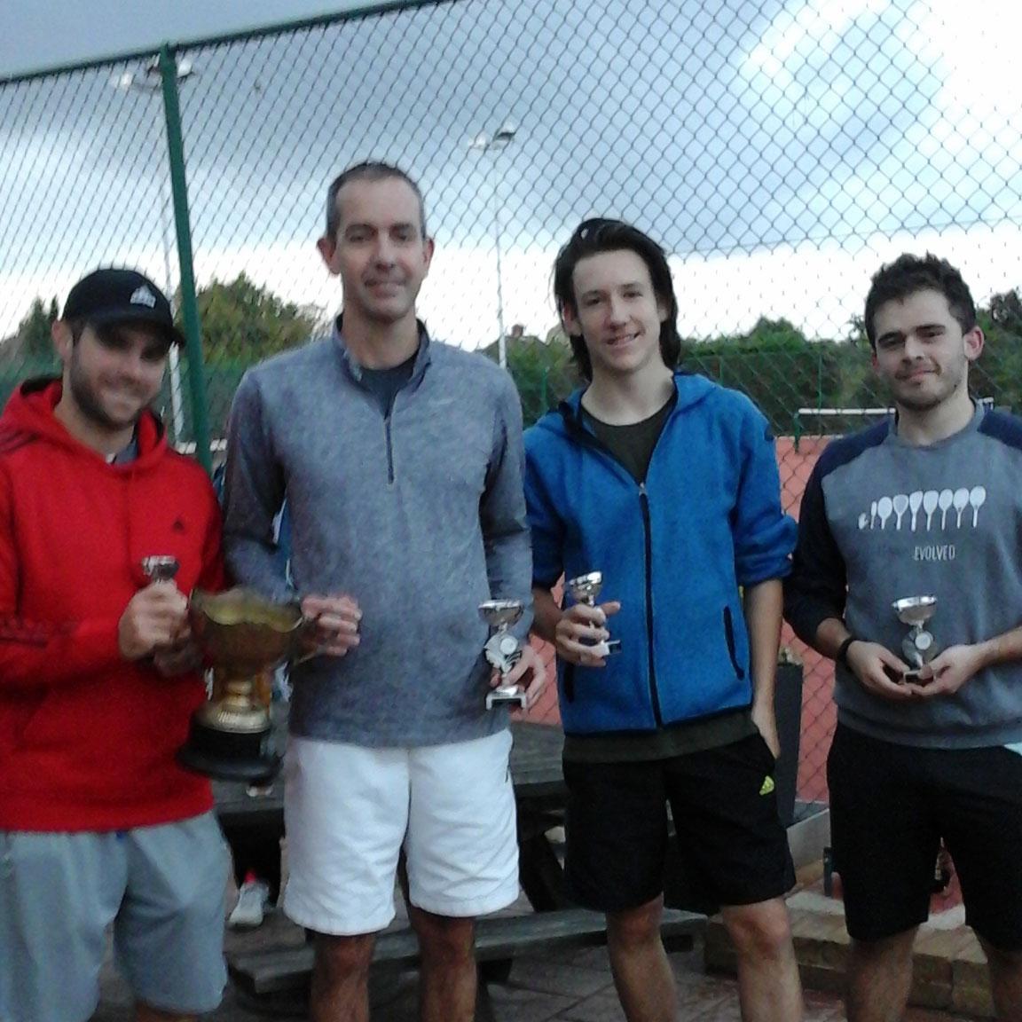 Open Mens Doubles Finalists