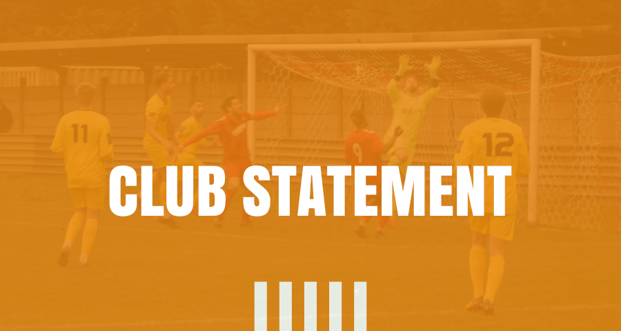 Club Statement 6th April 2020