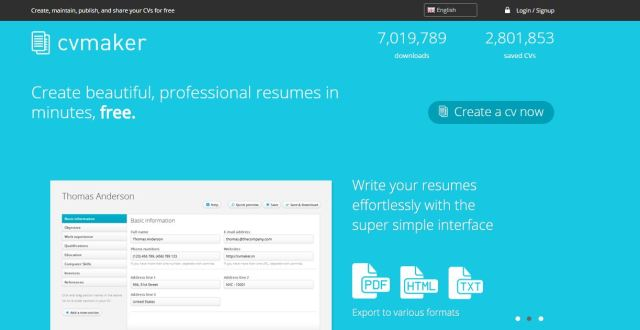 How To Create Cvresume Online For Free Tech4you