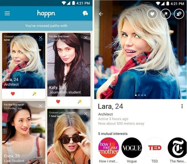 apps like tinder that don't require facebook