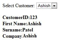 Calling database using jQuery AJAX and ASP NET | Ashish's Blog