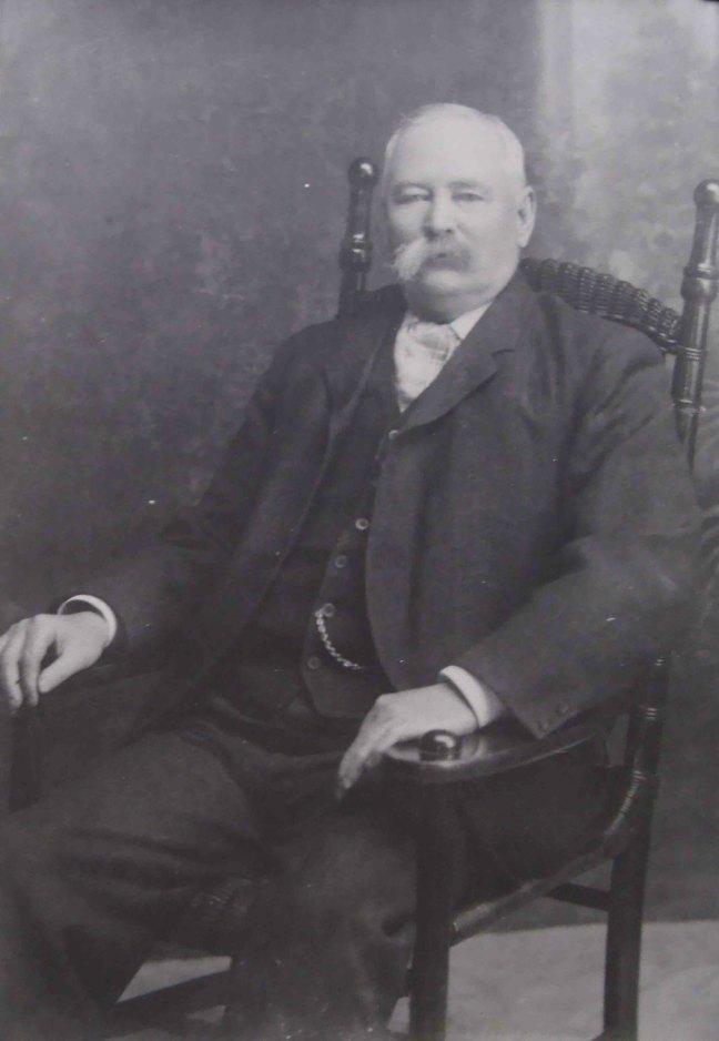 W.B. James Abrams, circa 1900