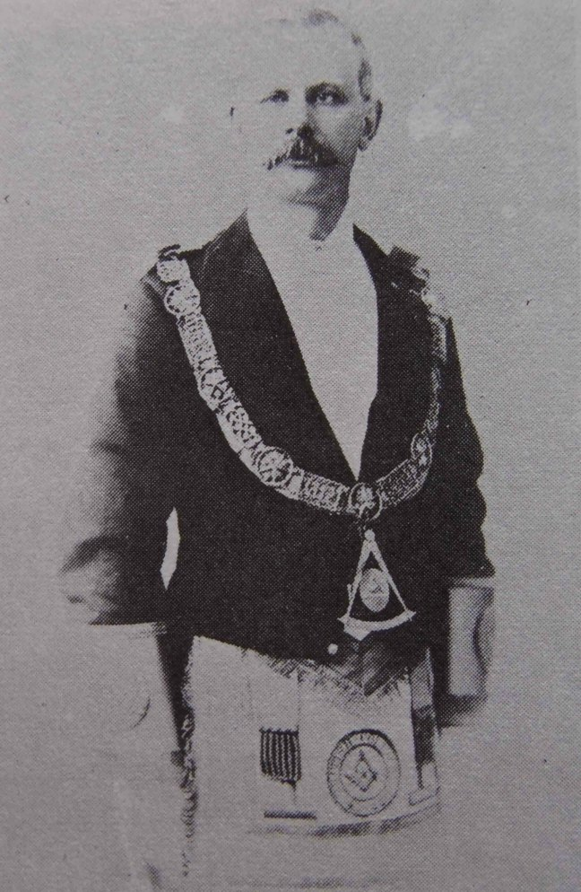 Marcus Wolfe as Grand Master of B.C., 1891-92