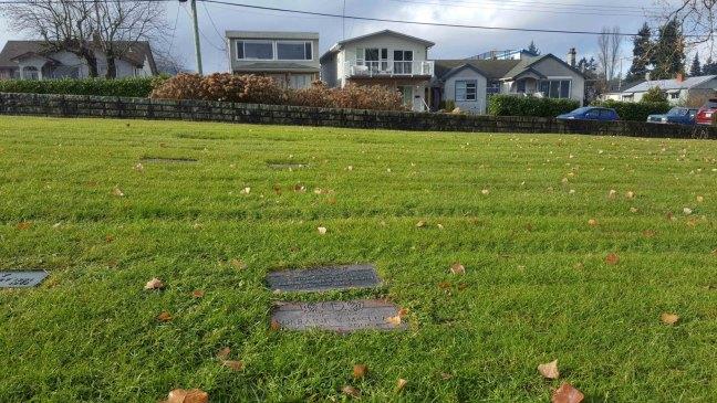 Allan James MacLean grave, Bowen Road Cemetery, Nanaimo, B.C.