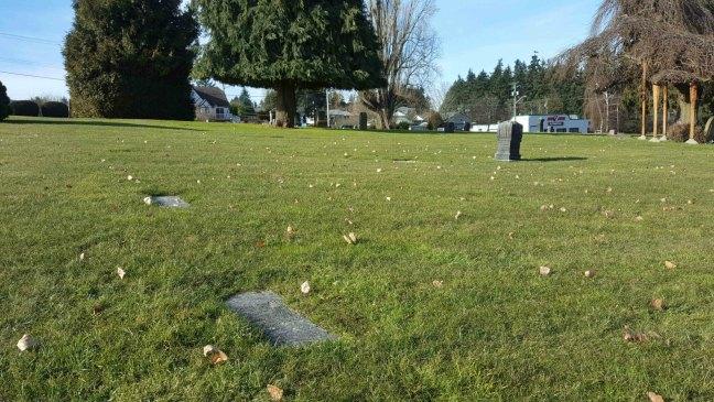 Ralph Craig grave, Bowen Road cemetery, Nanaimo, B.C.