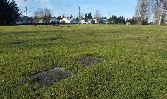 William Adam grave, Bowen Road cemetery, Nanaimo, B.C.
